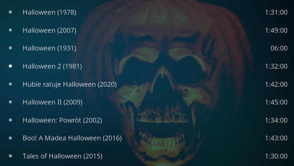 Filmy z motywem Halloween